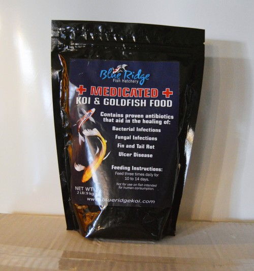 Blue Ridge Medicated Fish Food 2-5-25