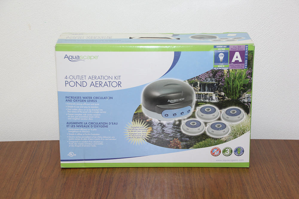 Aquascape 4 Outlet Aeration Kit Pond Aerator Natural Water Gardens